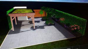 Peters hoveniersbedrijf uit Koudekerk aan den Rijn, het adres voor het maken voor uw tuinontwerp