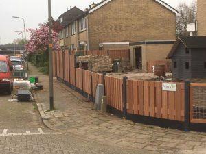Peters hoveniersbedrijf uit Koudekerk aan den Rijn, het adres voor het maken voor uw tuinscheiding